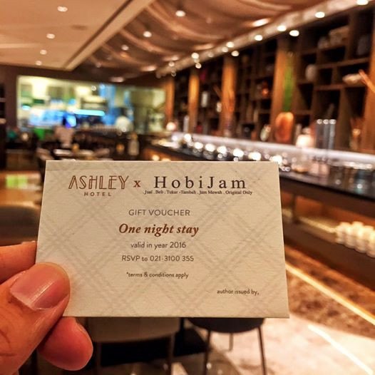 Ashley hotel gift voucher 1 night stay free for hobijam customer ashley hotel thecheapjerseys Image collections