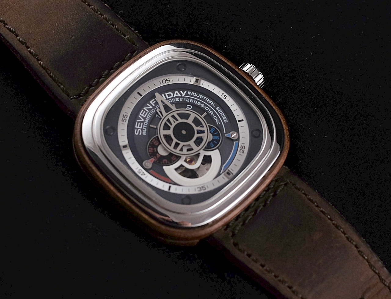 Sevenfriday M Series M2 01 Sold P1b Silver P3 2 Woody Limited Edition